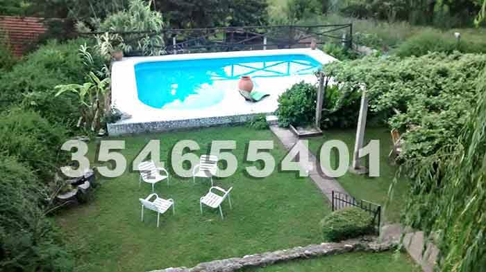 7597e49520cf2 VILLA CARLOS PAZ CASAS Alquiler de Casa para 10 personas con pileta ...